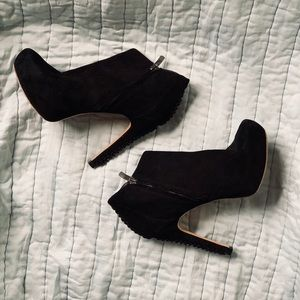 Vince Camuto Black Ankle Booties